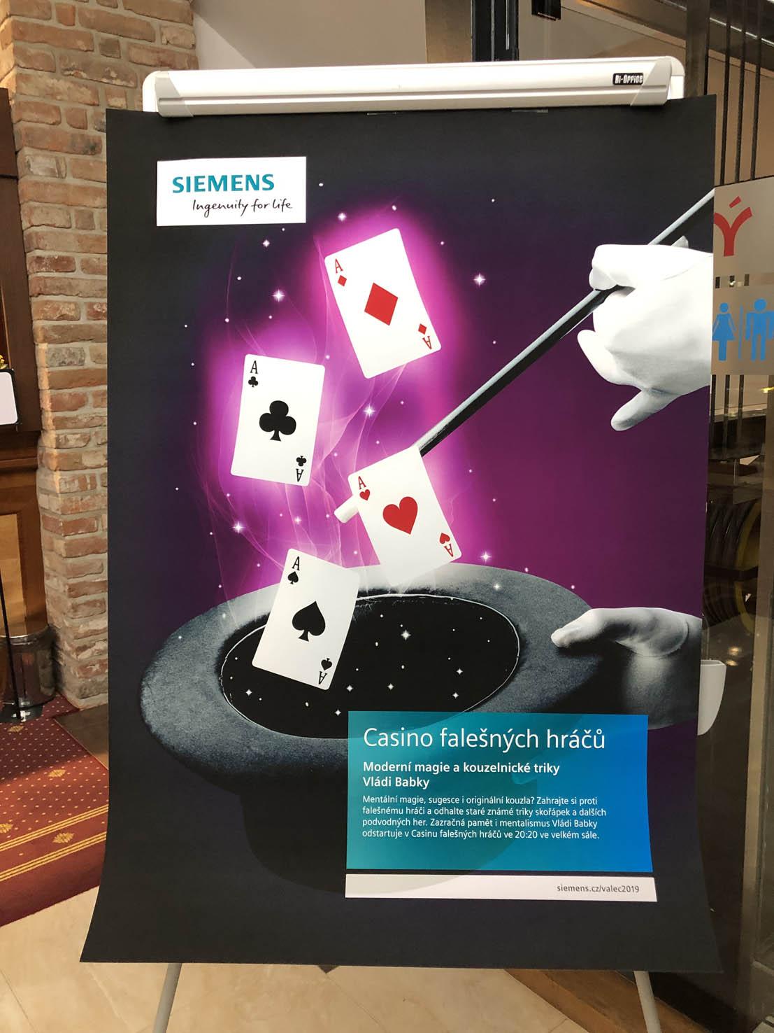 Firemní akce - Casino falešných hráčů